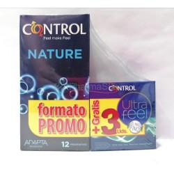 CONTROL Pack Nature + Ultra...
