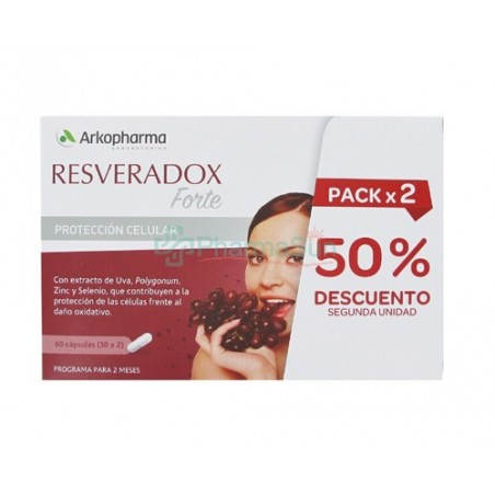 ARKOPHARMA Resveradox Forte Duplo 30 + 30 capsules
