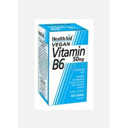 HEALTH AID Vitamin B6 50mg...
