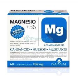 Natysal Magnesium + B6 60...