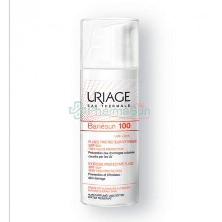 URIAGE Bariésun100 高效防晒护理液 SPF50+ 50ml