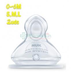 NUK Anti-colic Teats FC +...