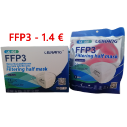 FFP3 White Filtering Mask...