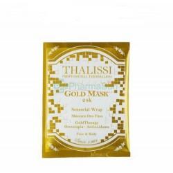 ALISSI BRONTE Gold Mask 24K...