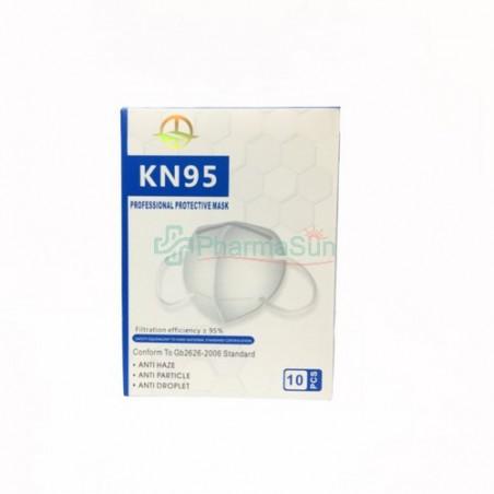 KN95/FFP2 Mascarilla Autofiltrante Para Partículas 1caja/10uds