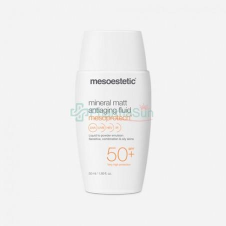 Mesoestetic Mesoprotech美斯蒂克抗蓝光矿物哑光抗衰防晒乳 50ml